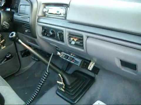 cb radio in pickup